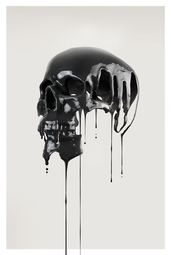 Artificial Anatomy on Behance by Paul HollingworthMore skulls here.