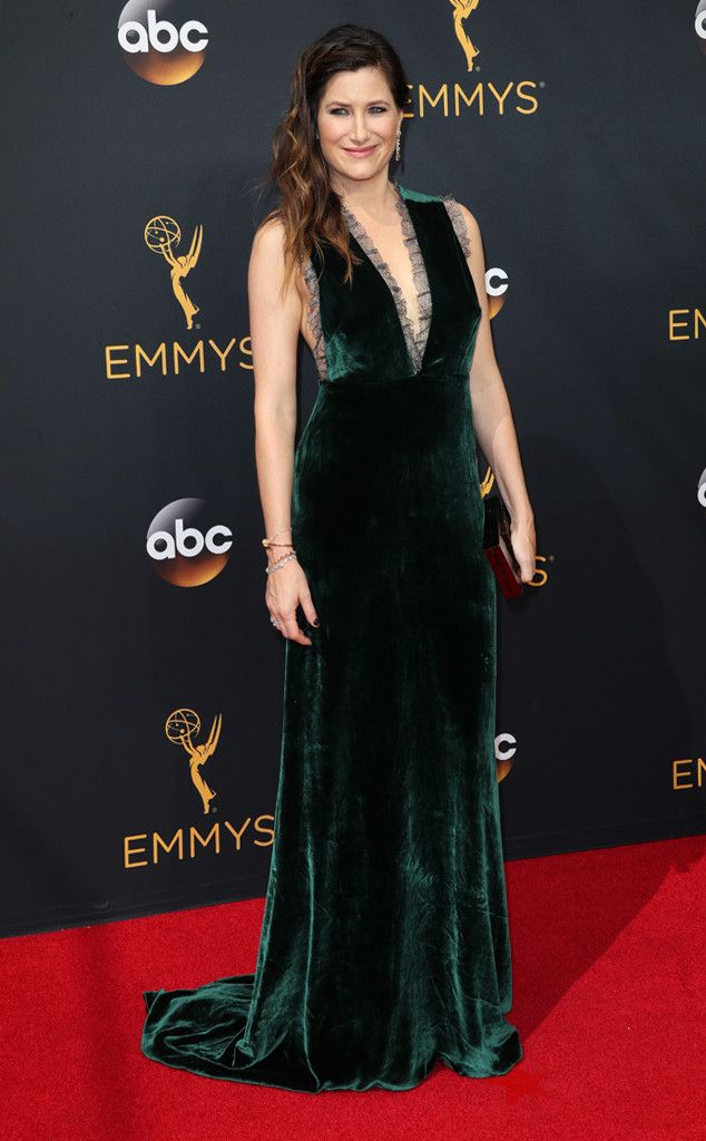 Kathryn Hahn From 2016 Emmys Red Carpet Arrivals