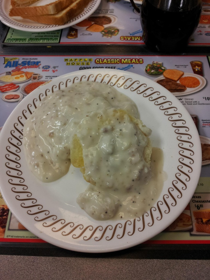Waffle House Biscuits Amp Gravy Yum Yummy Pinterest