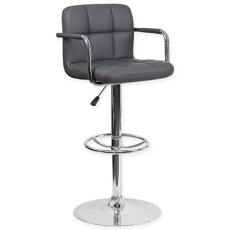 Orren Ellis Wolbert Swivel Adjustable Height Bar Stool Furniture Direct Bar Stools Furniture