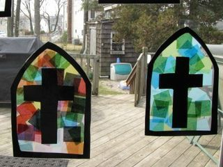 Tales From The Bonny Blue House: Stained Glass Craft