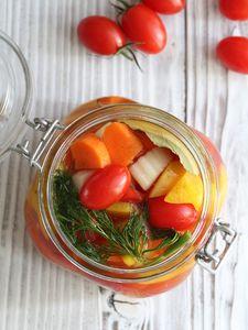 トマトと彩り野菜のピクルス