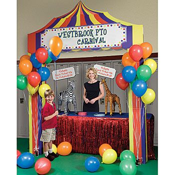 Add Our Personalized Carnival Booth To Your Carnival Supplies. Add Your Own  Wording To Make