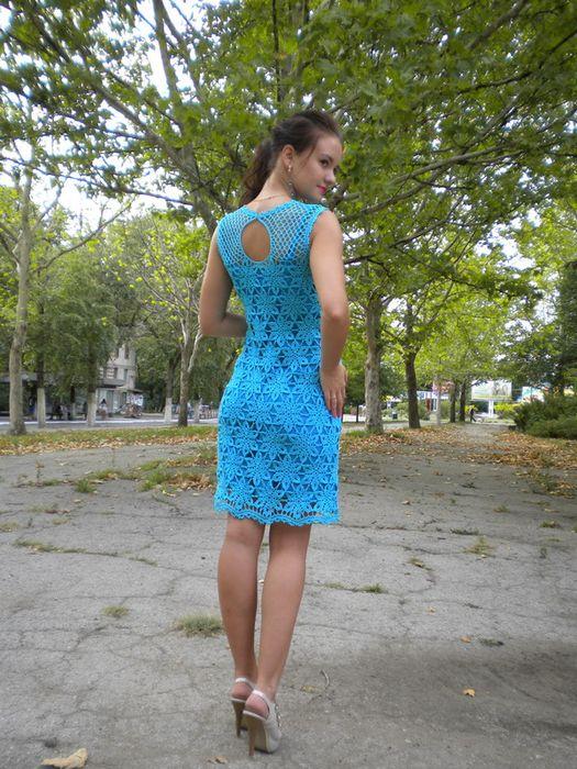 """Вязание-это то что приносит удовольствие! : Платье""""Лина"""""""