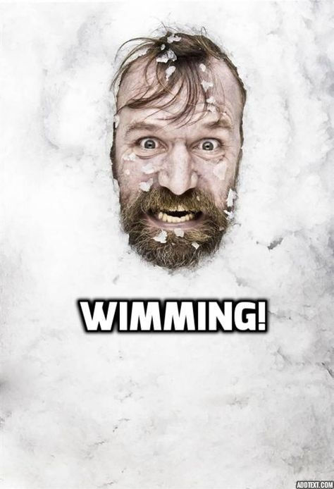 Wim Hof the original Wimmer! Check out this documentary on him!