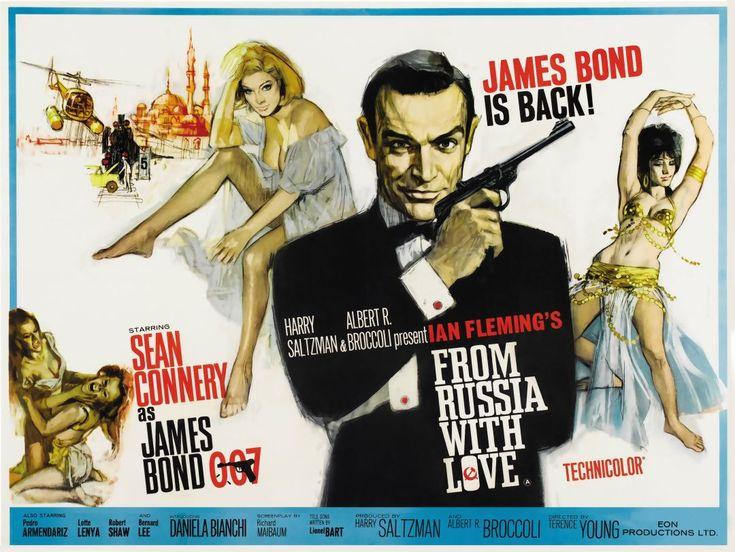 Постер James Bond - Джеймс Бонд