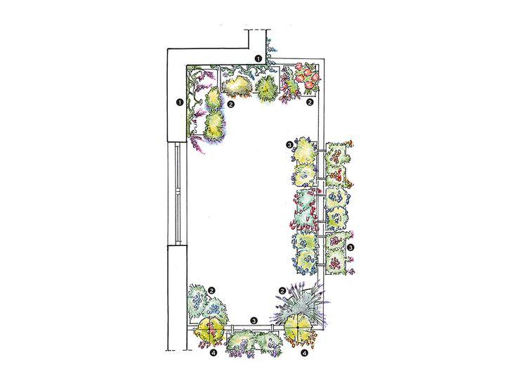 Fiori e privacy sul terrazzo in città!