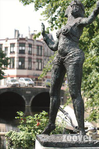 Statue of Mata Hari, in her hometown Leeuwarden