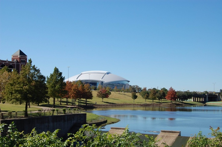 Arlington, Texas - where I became a cowboys fan!!