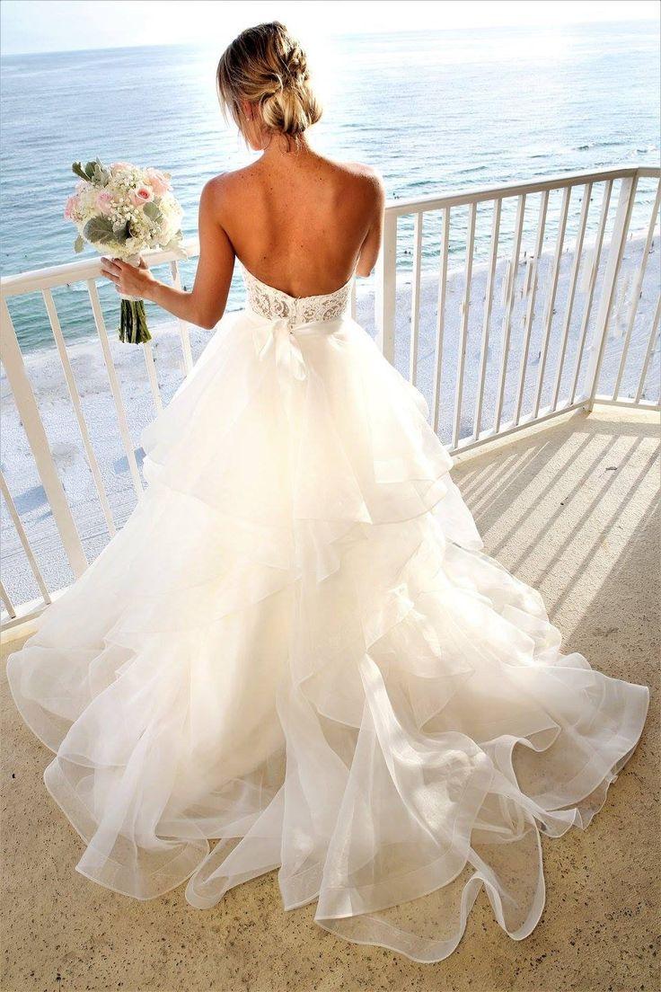 Paloma Blanca Wedding Gown Style 4707 with Wtoo Nori Skirt!