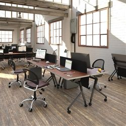 Perfect The Modular Office Furniture From OFM Will Help Promote Collaboration And  Versatility In Your Interiors.