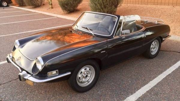 Fairly rare: 1972 Fiat Sport Spider - http://barnfinds.com/fairly-rare-1972-fiat-sport-spider/