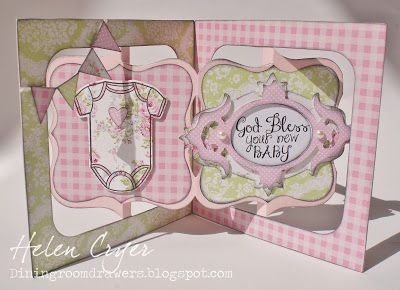 Sizzix Accordion Album, Frame & Label, Bracket and Fancy Frame dies - The Dining Room Drawers: 'The Stamps of Life' special release day!