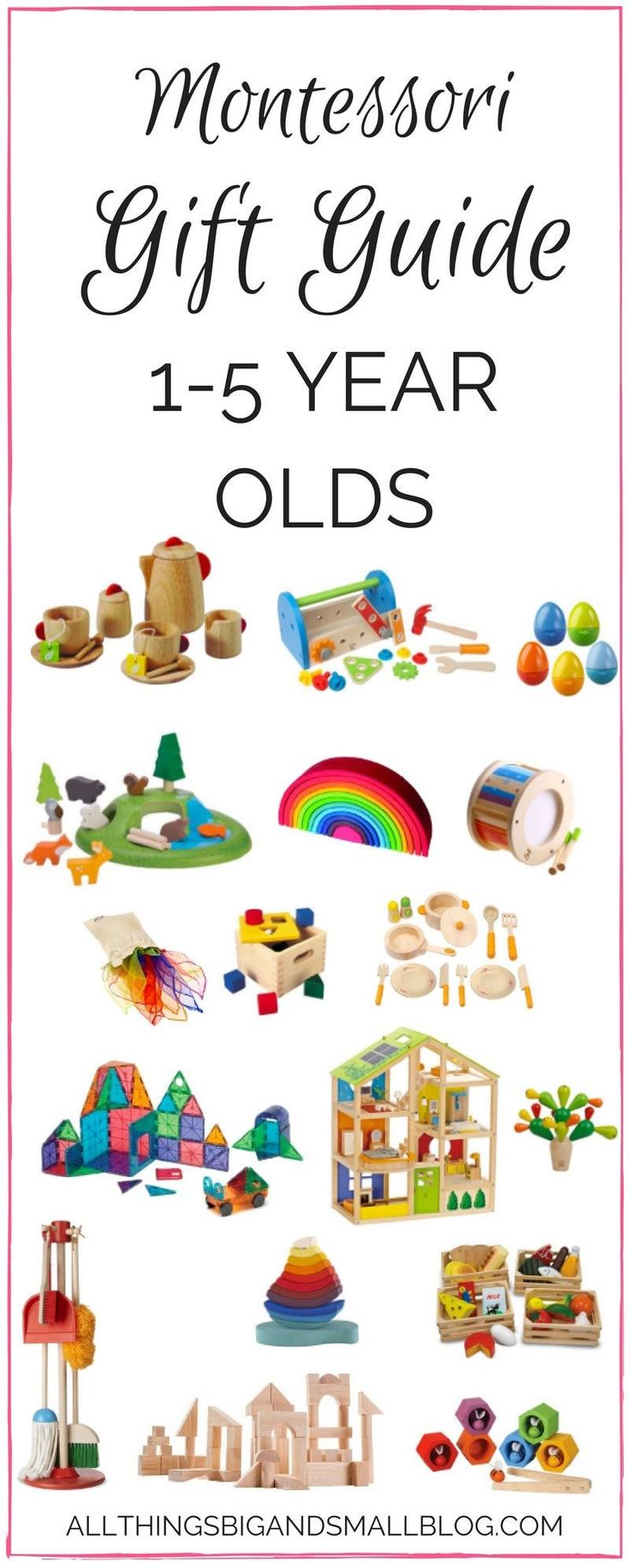 Cadeaux Montessori pour tout-petits | Guide de cadeaux | Décor maman bricolage   – Montessori