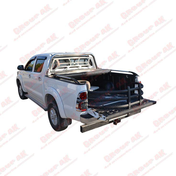 Bed X-tender+ BakFlip+roll-bar+protective grille+side rails Toyota Hilux
