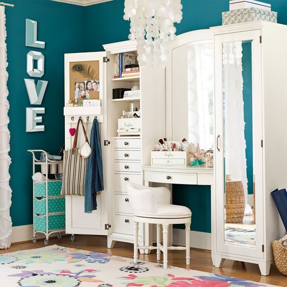 14 best organiser sa chambre images on pinterest home ideas organization ideas and bedroom ideas. Black Bedroom Furniture Sets. Home Design Ideas