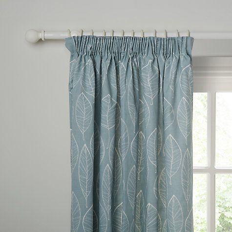 Buy John Lewis Aspen Lined Pencil Pleat Curtains Online at johnlewis.com