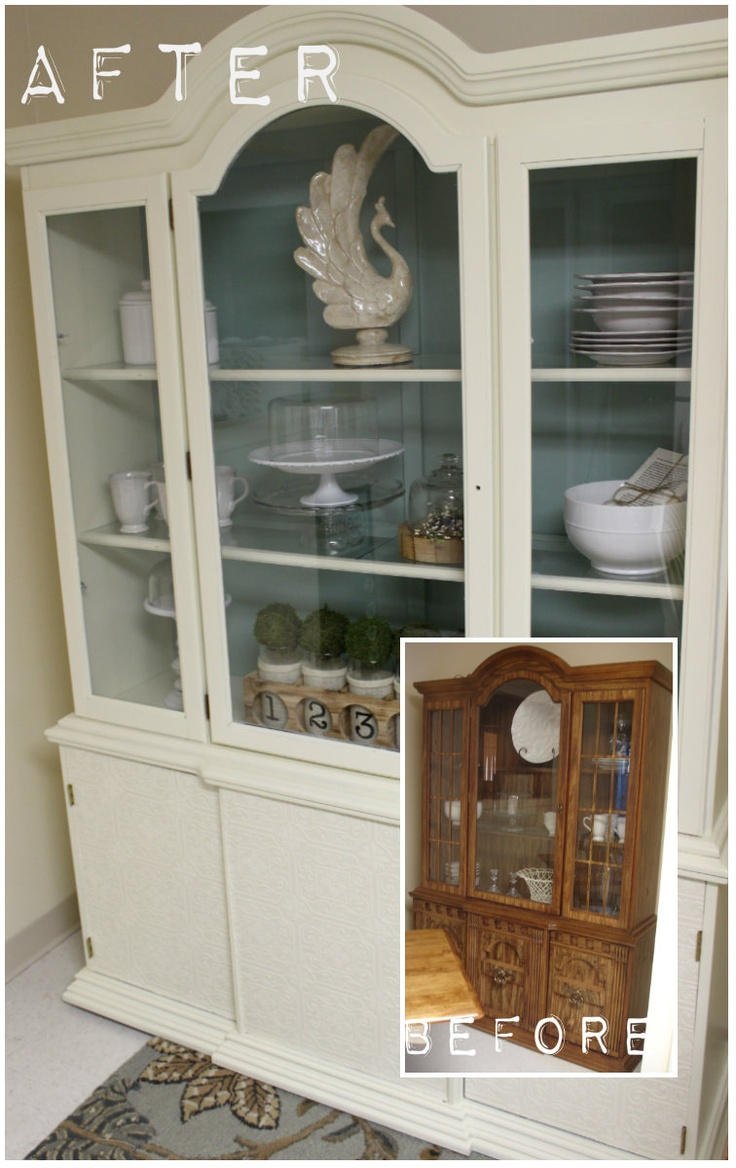 Lemmon Ampersand Diy Hutch Makeover For The Home