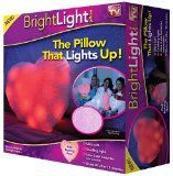 Bright Light Pillow As Seen On TV - Pink Beating Heart List Price: $39.99 Discount: $28.00 Sale Price: $11.99
