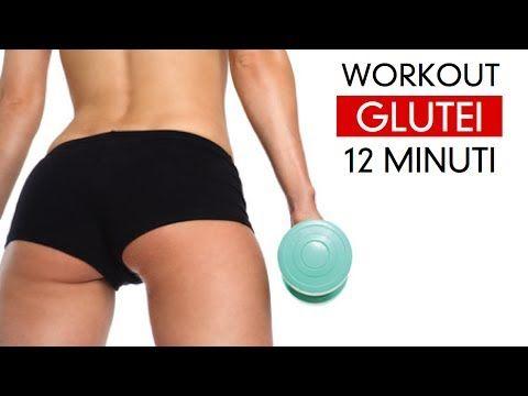Workout Glutei Perfetti - 12 Minuti - YouTube