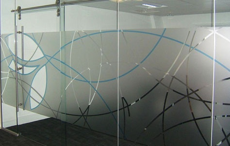 graphics on glass