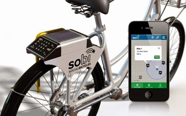 Collection of 'Coolest Smartphone Bike Gadgets' from all over the world for your bicycle.