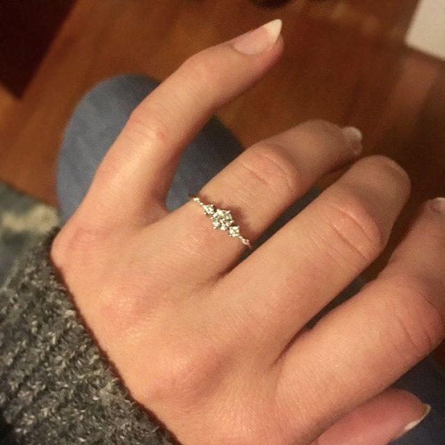 Moissanite Verlobungsring rose gold Vintage Verlobungsring Art Deco Diamant Hochzeit Frauen Versprechen Schmuck Jahrestagsgeschenk für Sie