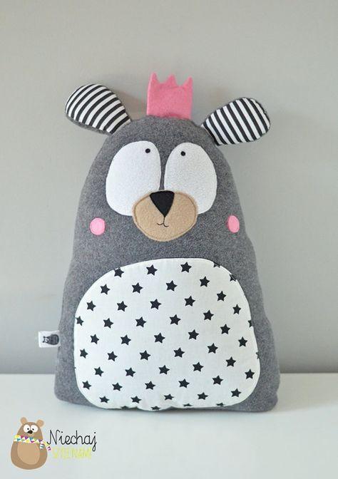 Personalisierte Teddybären in Krone Softie von SewManUniverseMaster