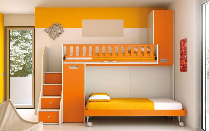 #camerette  #moretticompact #arredamento #bimbi #letto #funzionalità #salubrità