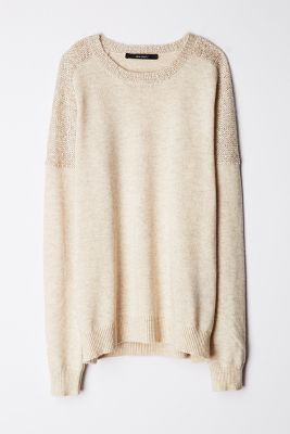 sequin dusted sweater!