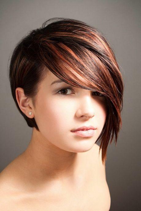 Cheveux Court Femme Visage Rond