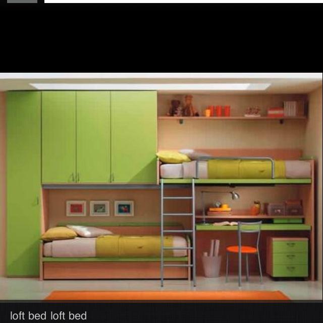 Loft bed hacerlo tu mismo pinterest dormitorios for D i y bedroom ideas