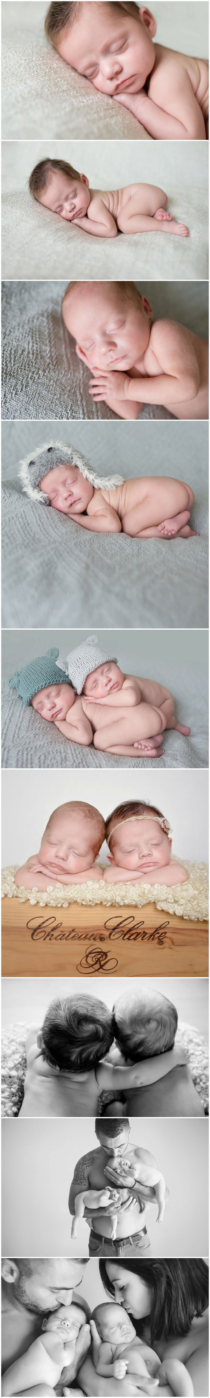 Jumeaux nouveau-nés  naissance garçon et fille                                                                                                                                                     Plus