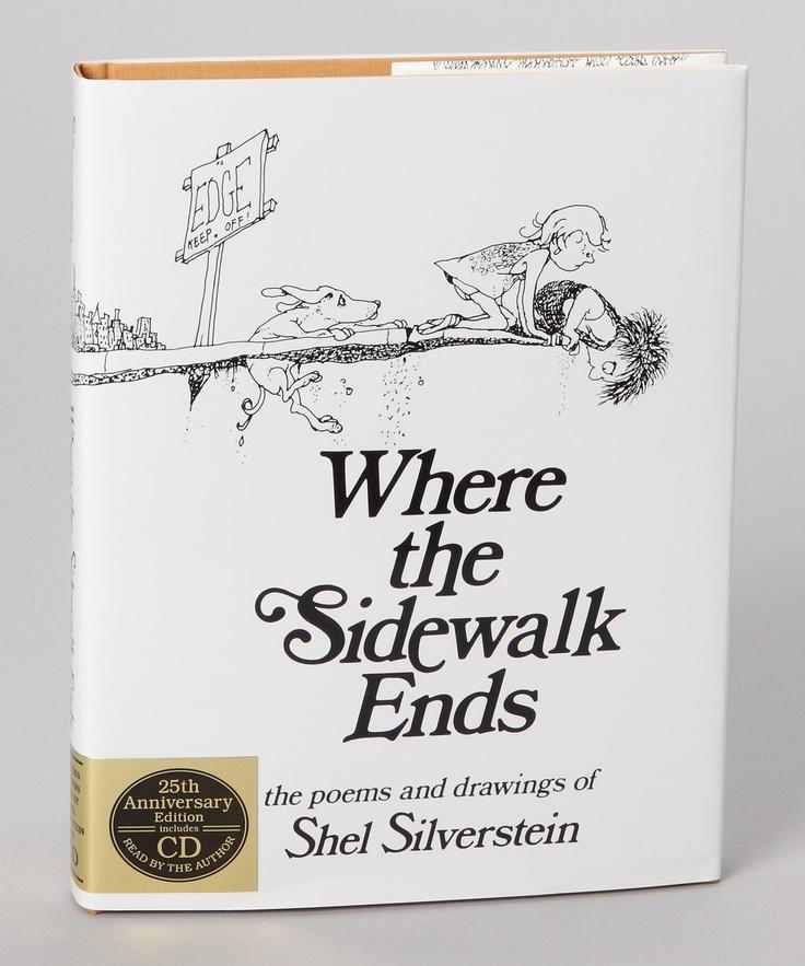 shel silverstein where the sidewalk ends - 736×883