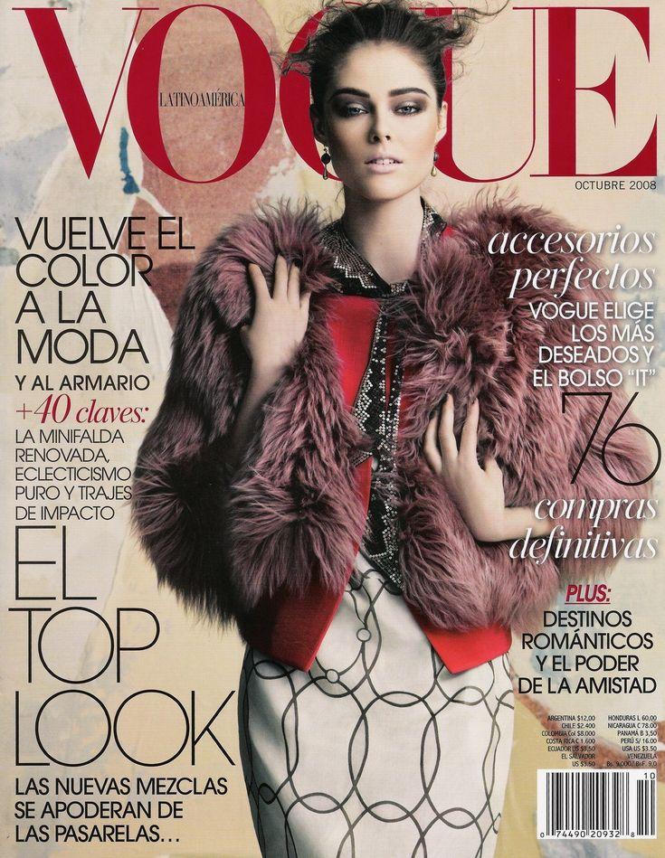 Coco Rocha - Vogue Mexico Magazine (October 2008)