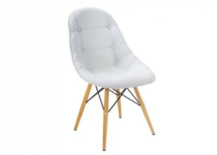 Καρέκλα τραπεζαρίας λευκή   puzzlehome