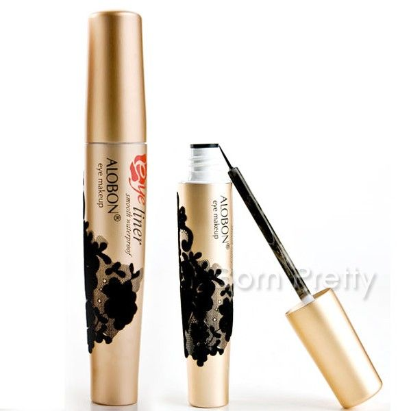 $4.81 1 Pc Soft Head Super Thin Liquid Eyeliner Smooth Lasting Waterproof Smudge Proof Eyeliner - BornPrettyStore.com