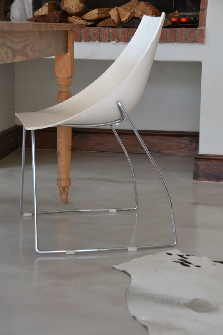 Cemcrete Cretecote cement-based interior floor finish
