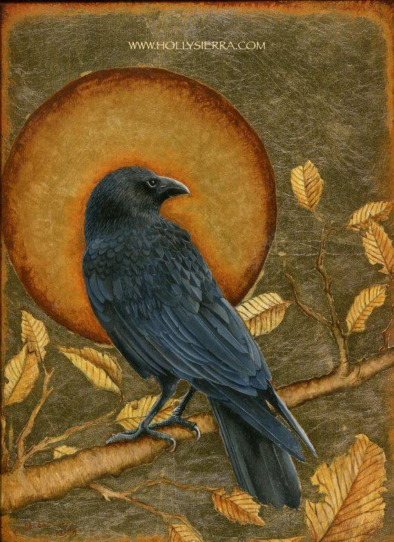 Witness  A Fine Art Greeting Card by HollySierraArt on Etsy, $4.00