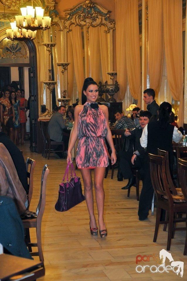 Eveniment fashion cu Daniela Crudu la Butoiul de aur