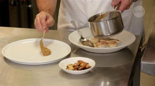 Gary's Boathouse caramelized onion puree | MasterChef Australia #MasterChefRecipes