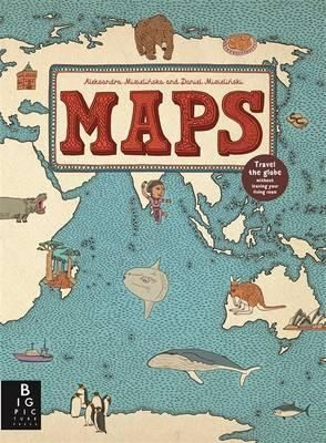 Boys - Maps book