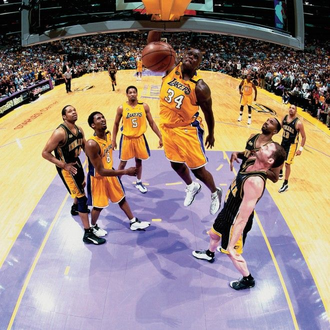 Shaquille ONeal 2000 NBA Finals