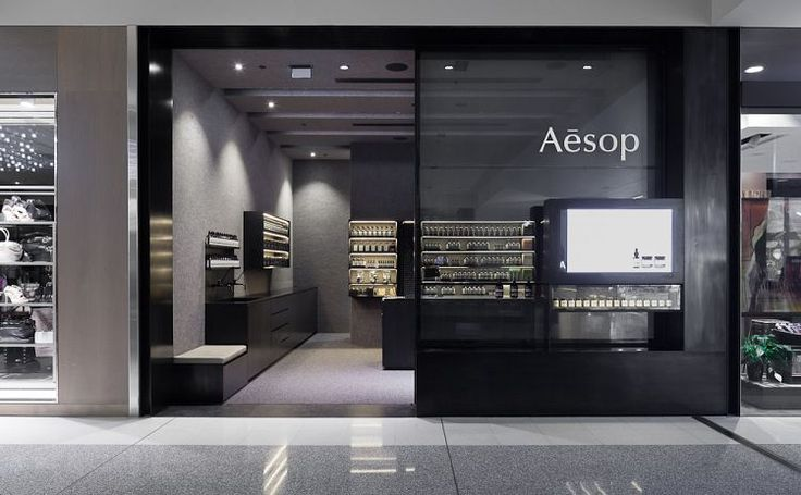 Kerstin thompson architects aesop canberra retail for Architecture firms canberra