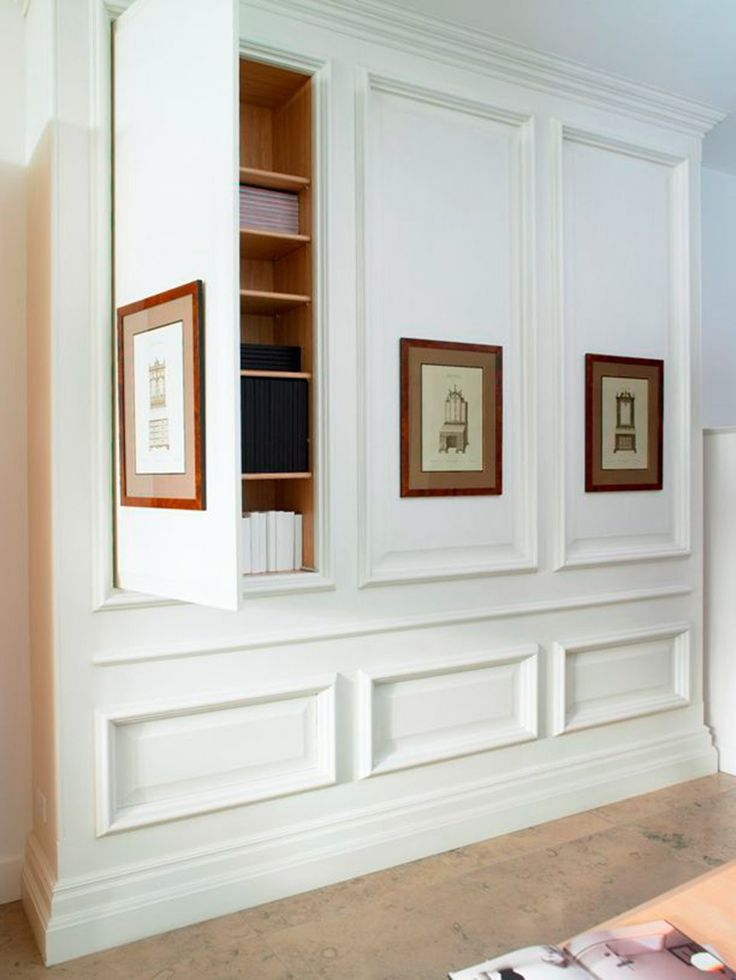 Hidden storage | #white #storage