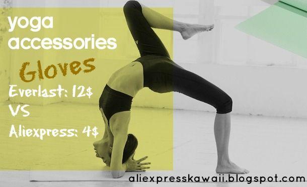 Aliexpress Kawaii Shopping: Yoga Violet Gloves