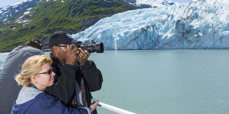 Portage Glacier is Alaska's most accessible glacier, and a favorite stop. Find a valley filled with ice nearby for hiking, fishing or learning about geology.  #AnchorageDayTrips  #AnchorageGlacier #ThingstoSeeAnchorage