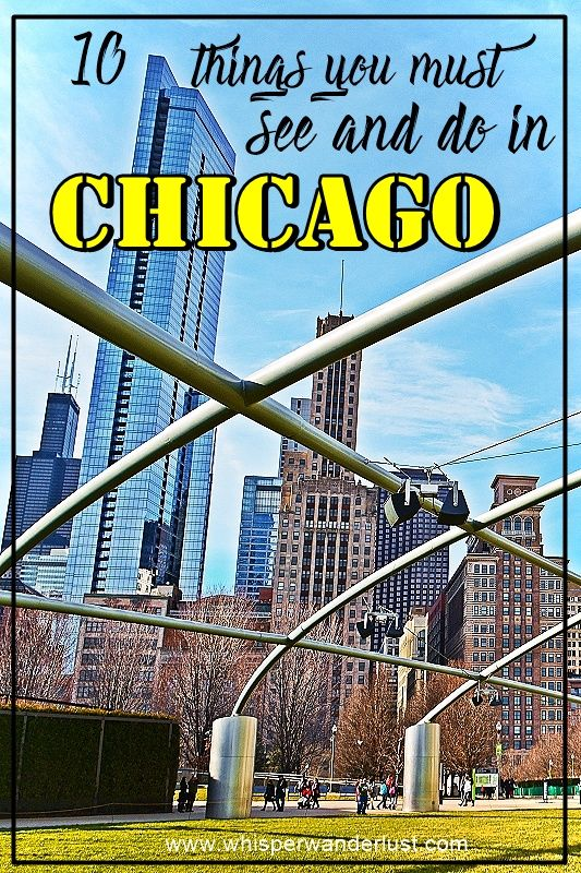 10 things you must see and do in Chicago | Windy City | Illinois |USA | Chicago | Cloud Gate | Millenium Park | Chicago's Riverwalk | Willis Tower | Sky Deck Chicago | Michigan Avenue Chicago | Navy Pier Chicago