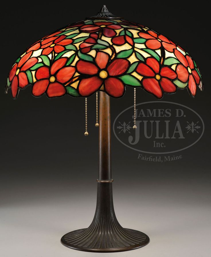 658 Best Images About Stained Glass Lamps On Pinterest