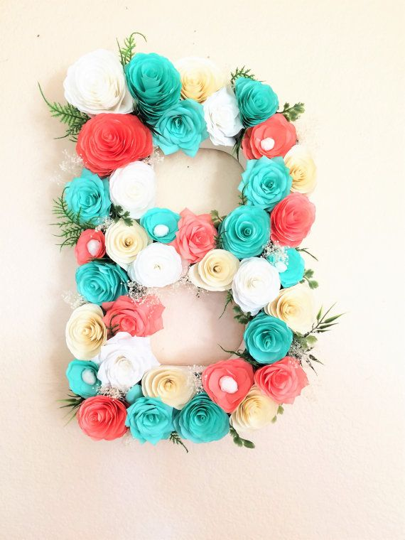 17 Best Images About Floral Letters And Numbers On